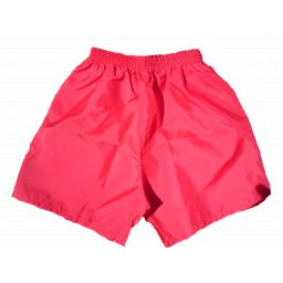 Red Nylon PE Shorts