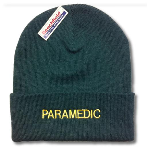 Paramedic Woolly Hat