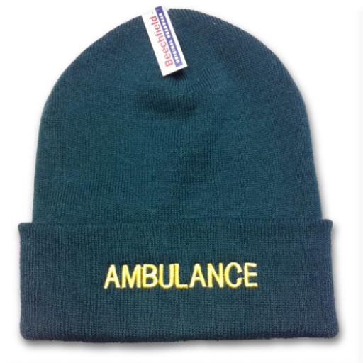 Ambulance Woolly Hat