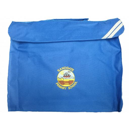 Sandgate Primary landscape style book bag