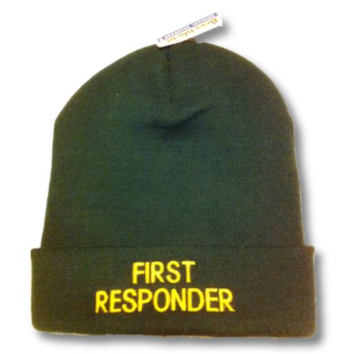 First Responder Woolly Hat