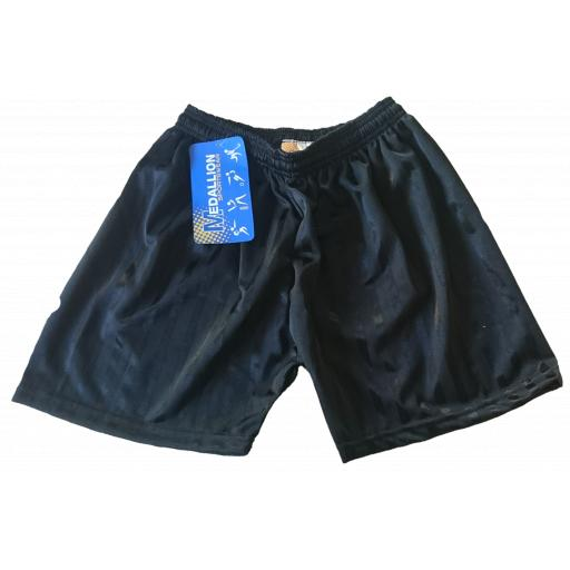 Elham School PE Shorts - Black Shadow Stripe