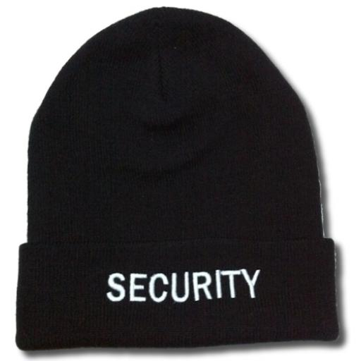 Security Woolly hat