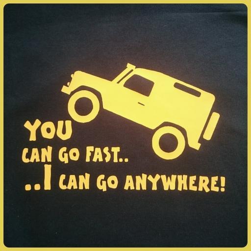 Land Rover T shirt