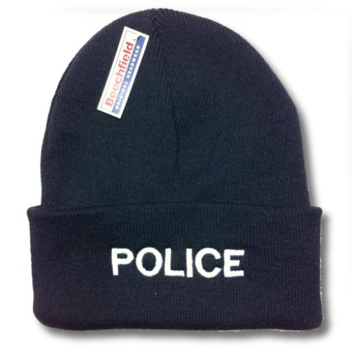 Police Woolly Hat