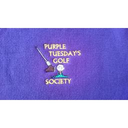 Purple Tuesday's Golf Society Polo Shirt