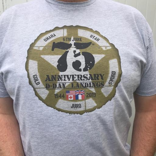 D-Day 75th Anniversary 1944 - 2019 T Shirt