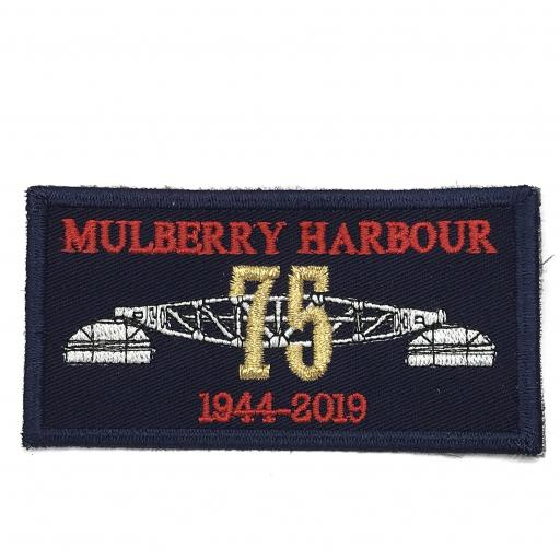 Mulberry Harbour 75th Anniversary Badge