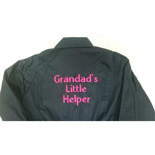 Grandad's Little Helper kids overalls