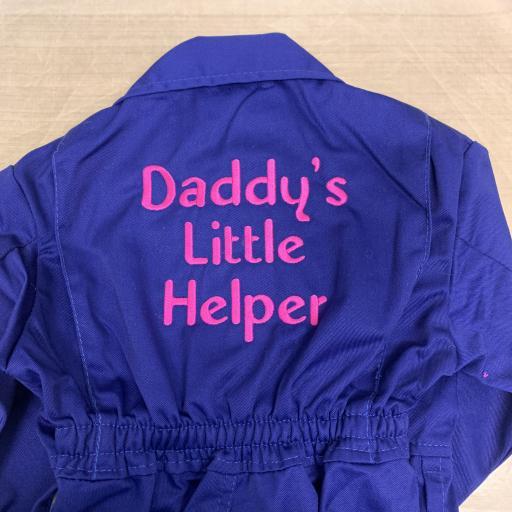 Daddy's Little Helper kids overalls