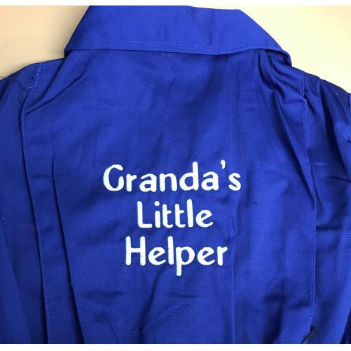 Granda's Little Helper kids overalls
