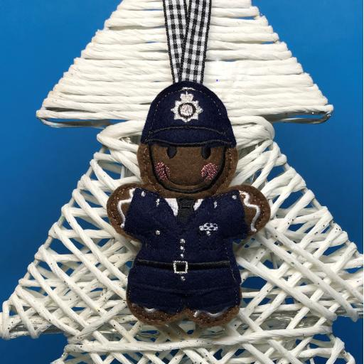 Gingerbread Policeman