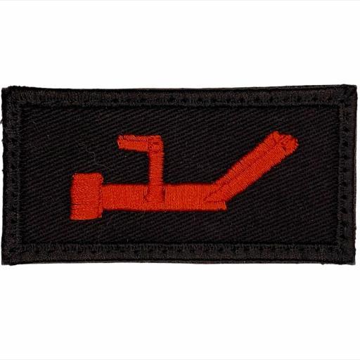 Enforcer Red Key Patch 4cm x 8cm - Tactical Patch