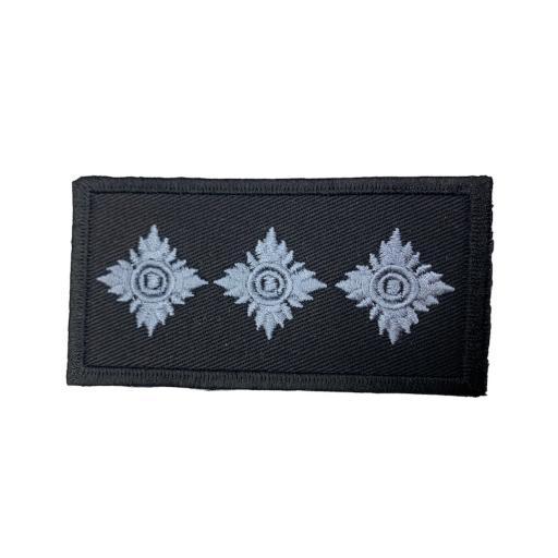 Chief Inspector 3 Bath Star Patch 10cm x 5cm