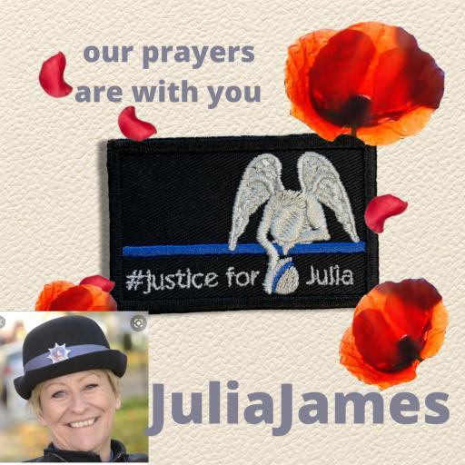 #Justice for Julia Patch 5cm x 8cm - Tactical Patch