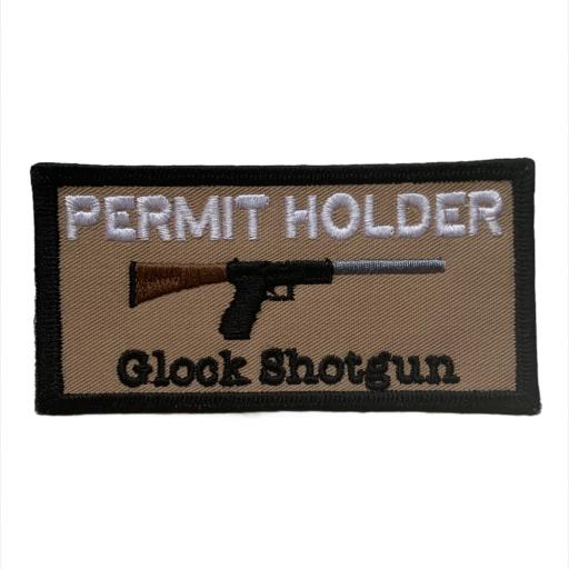 Glock Shotgun Patch 10cm x 5cm